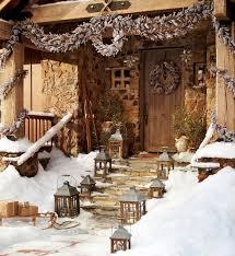 rustic christmas rustic christmas decoration interior design ideas