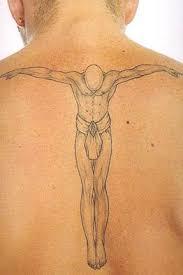 punkcturobaf guardian tattoos on back