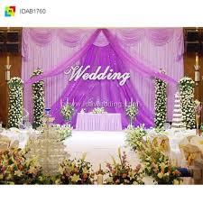 wedding backdrop on stage ida wedding flower wall curtain backdrops stage background decor
