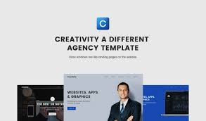 creativity agency html5 responsive website template