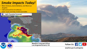California Weather Map Fire Danger Remains High As U0027real U0027 Winter Eludes Southern