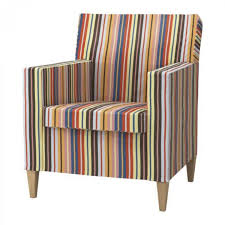 Ikea Armchair Covers Ikea Karlstad Chair Slipcover Armchair Cover Dillne Multi Bright