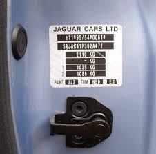 need to identify options by vin jaguar forums jaguar