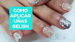 uas de gelish decoradas curso de uñas de gel como aplicar uñas gelish youtube