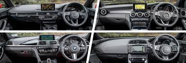 compare lexus vs bmw audi a4 vs mercedes c class vs bmw 3 series vs jaguar xe carwow