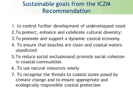 iczm indicators and their application to assess sustainable