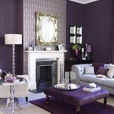 Purple And Grey Living Room Decorating Ideas  Best Purple - Purple living room decorating ideas