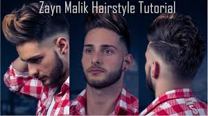 zayn malik men u0027s hairstyle tutorial self haircut inspiration