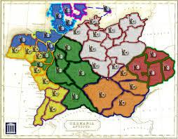 germania map germania antiqua map