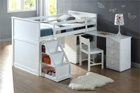 lits mezzanine avec bureau lit mezzanine avec escalier rangement great free marque generique