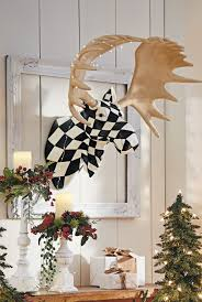 Harlequin Home Decor Harlequin Moose Head Moose Head Holiday Decorating And Moose