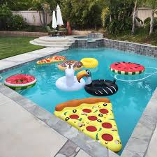 giant 4 foot inflatable donut pool ring float chocolate frosted
