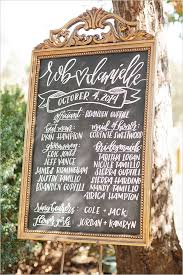 Wedding Program Chalkboard Best 25 Wedding Program Board Ideas On Pinterest Wedding
