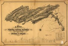 map us railroads 1860 file 1860 map of the virginia central railroad jpg wikimedia commons