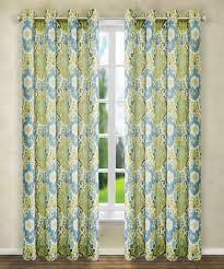 Lined Grommet Curtain Panels Amazon Com Ellis Curtain Tuscany Lined Grommet Panel 50 X 84