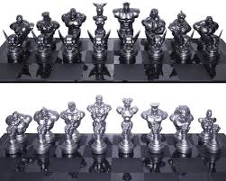 amazon com street fighter 25th anniversary chess set toys u0026 games