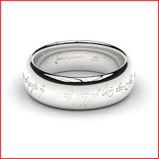 lord of the rings wedding band new silver lord of the rings wedding band image of wedding ring