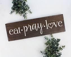 eat pray etsy