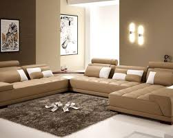 Light Brown Leather Couch Decorating Ideas Exceptional Impression Cheap Sofa Bed Corner Dazzling Easy Pull