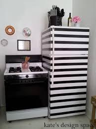 striped fridge makeover kate s design space fridge4