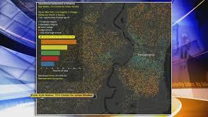 Tcu Map Interactive Map Reveals Education Level Of Your Neighborhood