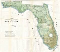 Amelia Island Map File 1853 Land Office Plat Map Of Florida Geographicus Florida