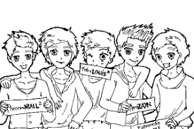 coloring pages one direction murderthestout