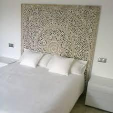 Wood Panel Headboard Rich Floral Carved Teak Wood Panel Headboard King Size Bed