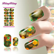Christmas Light Nails by Fantasy Nail Promotion Shop For Promotional Fantasy Nail On