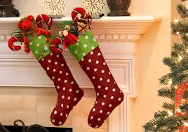 Homemade Christmas Stockings by Christmas Decorating In A Flash Cushion Source Blog