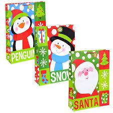christmas gift bags bulk jumbo whimsical christmas gift bags at dollartree