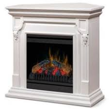 Sears Electric Fireplace Dimplex Milan White Electric Fireplace Convertible Mantel Package