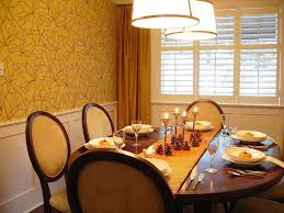 Casual Table Setting Casual Table Setting Dining Room Transitional With Round Dining