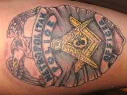 police occupation tattoo