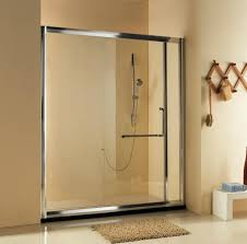 Frosted Glass Shower Door by How To Clean Glass Shower Doors Walk In Shower Designs And
