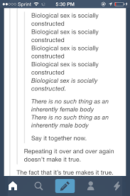 Sex Memes Tumblr - biological sex is socially constructed tumblr know your meme