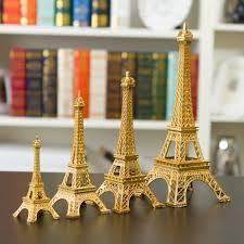 Eiffel Tower Garden Decor New Gold Paris Eiffel Tower Miniature Figurine Figurine Room