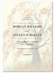 fall wedding programs fall wedding programs on premium paper mighty fall tree by