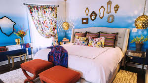bedroom contemporary moroccan bedroom design ideas with floral