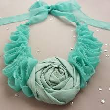 trendy flower necklace images Trendy eco friendly t shirt jewelry ideas jpg