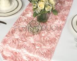 Table Runners Cover It Up Pink Table Runner Etsy