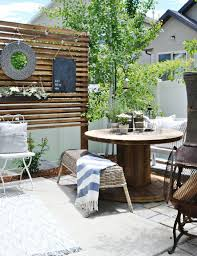 Simple Patio Ideas For Small Backyards Best 25 Small Patio Spaces Ideas On Pinterest Patio Ideas For