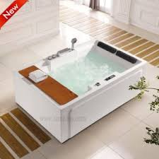 china fashionable corner air jet bathtub with apron for two person