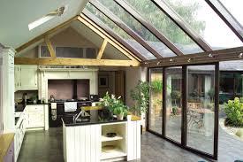 kitchen extension design 6 key influences on glass extension design apropos conservatories