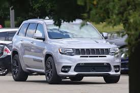 2018 jeep grand wagoneer interior 2018 jeep grand cherokee trackhawk spied looks ready to pounce