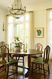 Casual Dining Room Chandeliers Ivory Dining Room Curtains Design Ideas