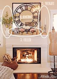 How To Decorate Fireplace Mantel Ideas 6607