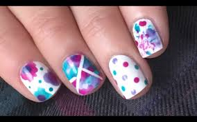 5 super simple nail designs using essie watercolors youtube
