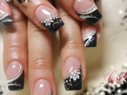 34 cute black and white nail designs nails in pics