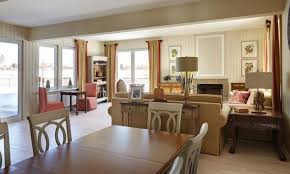 Beautiful Interior Design In Family Oriented American Style - American home interiors